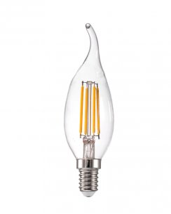 Leuchten Direkt Liluco Traditional Dimmable Filament Style LED Bulb 08320