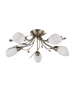 Marco Tielle Lilyanne 5 Light Traditional Semi-Flush Fitting MT1765-5AB