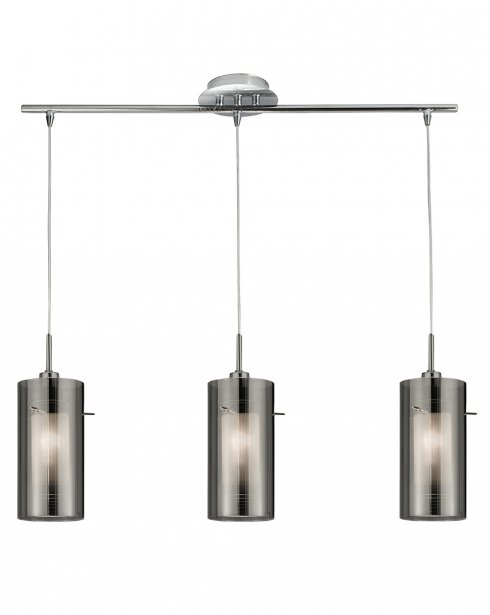 Marco Tielle Duel 2 3 Light Modern Steel Pendant Light MT3303-3SM