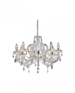 Marco Tielle Marie Therese 5 Light Clear Crystal Chandelier MT699-8