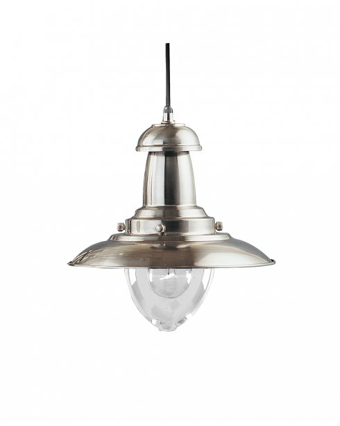 Marco Tielle Nautical Single Light Traditional Steel Pendant Light MT4301SS
