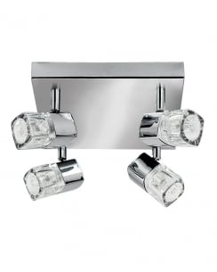 Marco Tielle Novara 4 Light Modern Spotlight Fitting MT9884CC