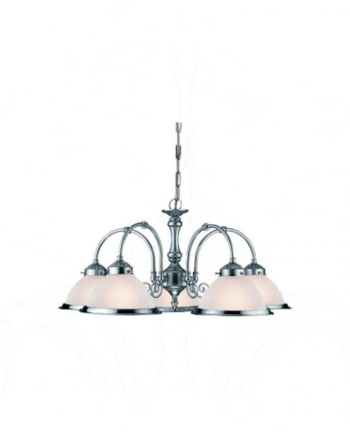 Marco Tielle Novara 5 Light Traditional Multi-Arm Pendant MT7545-5CC
