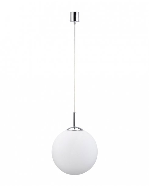 Paul Neuhaus Bolo Modern Chrome Pendant Light 2447-17