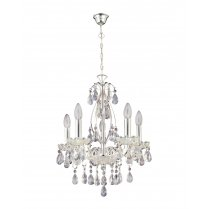 Paul Neuhaus Casta Traditional Chrome Chandelier 3085-17
