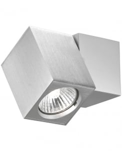 Paul Neuhaus Cub Modern Aluminium Wall Mounted Spotlight 9986-95