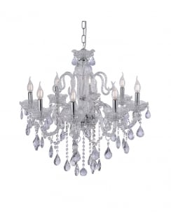 Paul Neuhaus Gracia Traditional Clear Crystal Chandelier 3081-00