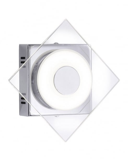 Paul Neuhaus Kelani Modern Chrome Decorative Wall Light 9303-17