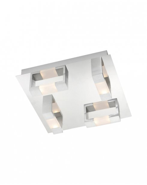 Paul Neuhaus Kemos Modern Chrome Bathroom Ceiling Fitting 2198-96