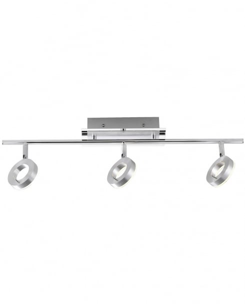 Paul Neuhaus Sileda Modern Steel Bathroom Ceiling Fitting 6785-96