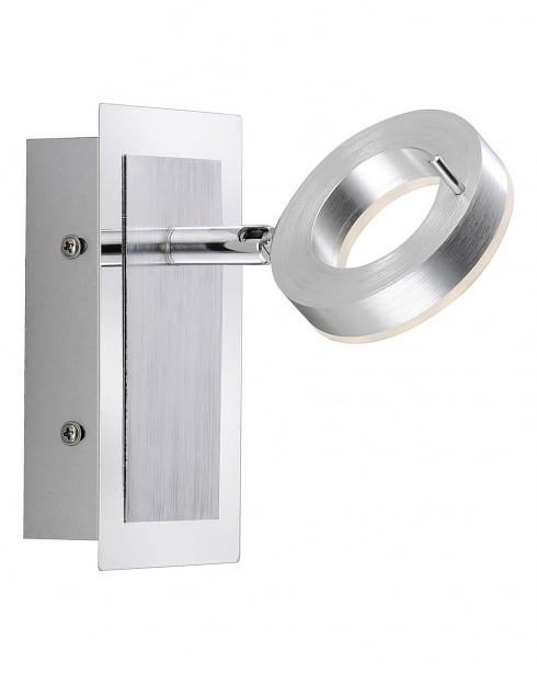 Paul Neuhaus Sileda Modern Steel Bathroom Wall Fitting 9785-96