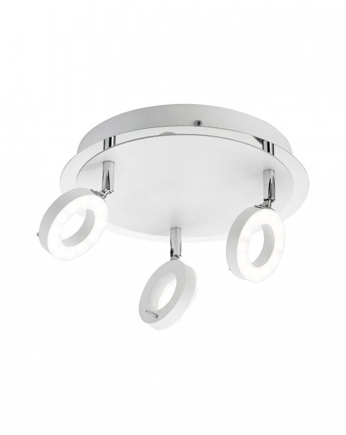 Paul Neuhaus Sileda Modern Chrome Bathroom Ceiling Fitting 6788-16