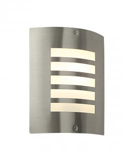 Saxby Bianco Single Light Modern Porch Light ST031F