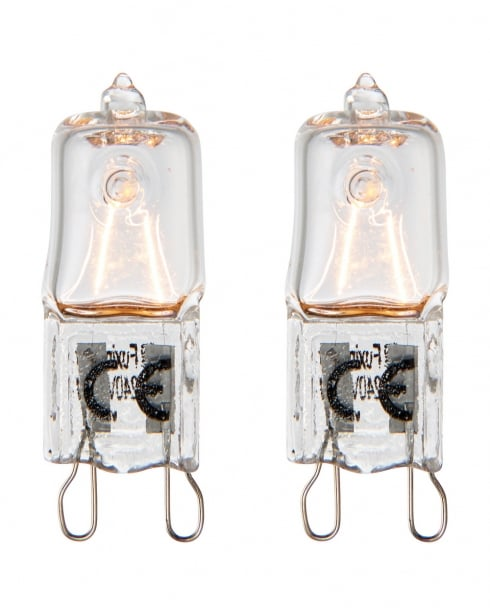 Saxby G9 eco halogen Accessory Clear Bulbs 70064