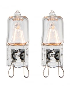 Saxby G9 eco halogen Accessory Clear Bulbs 70065