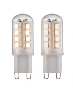 Saxby G9 LED SMD Accessory Clear Bulbs 69036