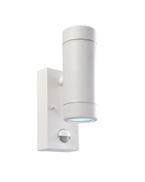 Saxby Icarus PIR Modern White Security Light 61007