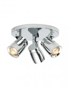 Saxby Knight 3 Light  Spotlight Fitting 39167