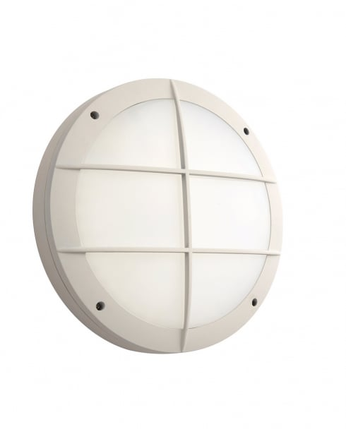 Saxby Luik Modern White Porch Light 69239