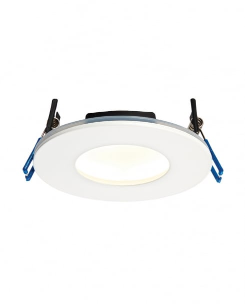 Saxby OrbitalPLUS Modern White Recessed Bathroom Light 69880
