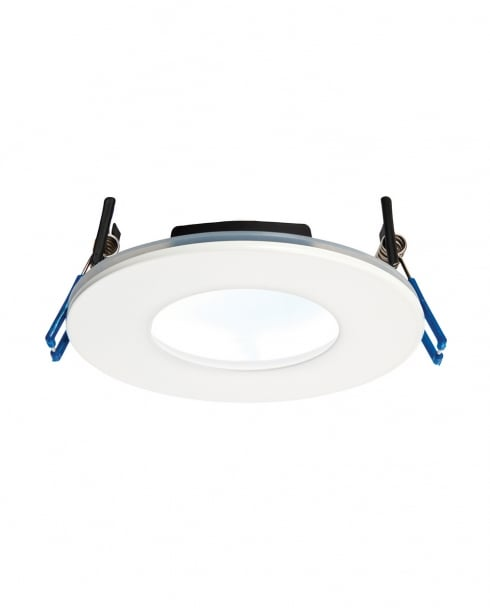 Saxby OrbitalPLUS Modern White Recessed Bathroom Light 69883