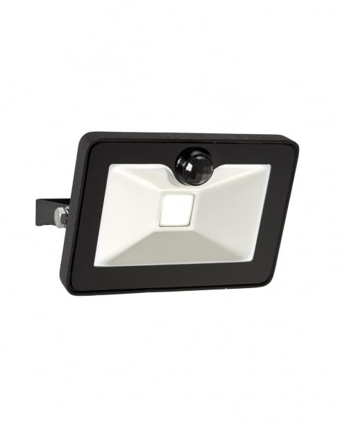 Saxby Sabre PIR Modern Black Security Light 69338