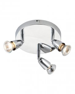 Saxby Amalfi 3 Light  Spotlight Fitting 43279