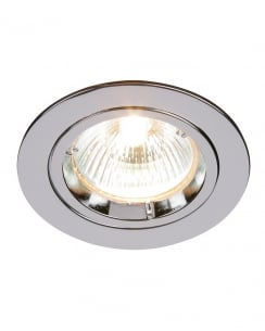 Saxby Cast Single Light Modern Recessed Ceiling Light 52329