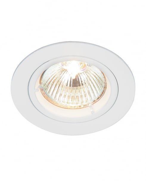Saxby Cast Single Light Modern Recessed Ceiling Light 52331