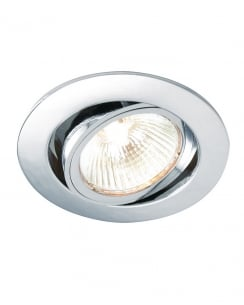 Saxby Cast Single Light Modern Recessed Ceiling Light 52332