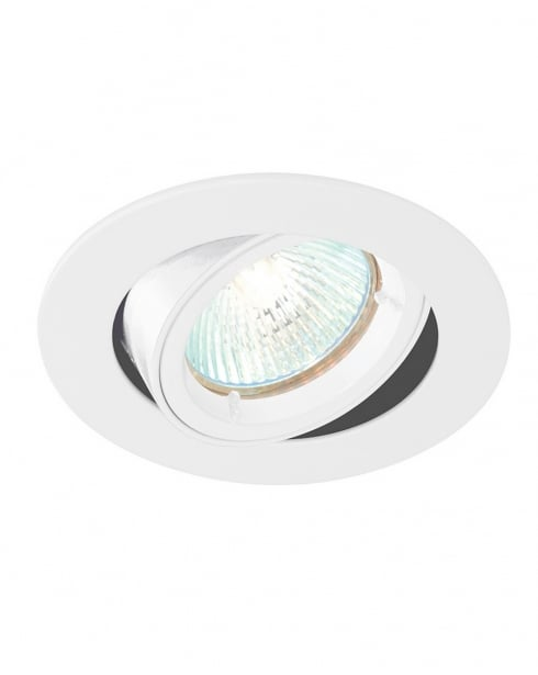 Saxby Cast Single Light Modern Recessed Ceiling Light 52334