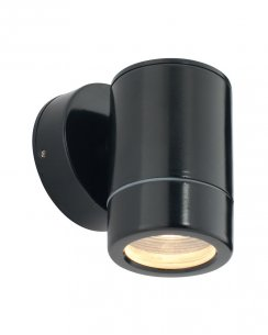 Saxby Odyssey Single Light  Porch Light ST5009BK