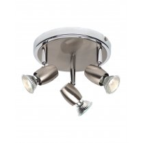 Saxby Palermo 3 Light  Spotlight Fitting G5503477