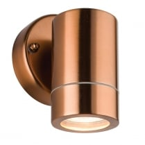 Saxby Palin Modern Copper Porch Light 55637