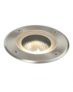 Saxby Pillar Single Light Modern Recessed Outdoor Light 52212