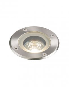 Saxby Pillar Single Light Modern Recessed Outdoor Light GH98042V