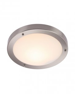 Saxby Portico Single Light Modern Bathroom Ceiling Fitting 12421