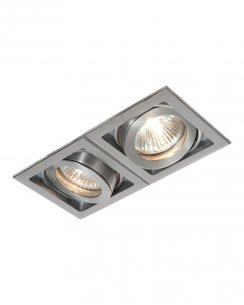 Saxby Xeno 2 Light Modern Recessed Ceiling Light 52408