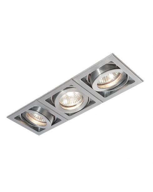 Saxby Xeno 3 Light Modern Recessed Ceiling Light 52409
