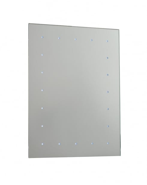 Saxby Toba 20 Light Modern Bathroom Mirror 51898