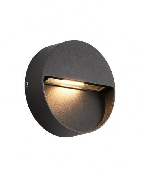 Saxby Tuscana Modern Black Porch Light 69935
