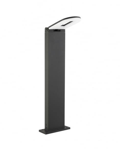 Searchlight 0583-500GY Modern Charcoal Outdoor Light Post