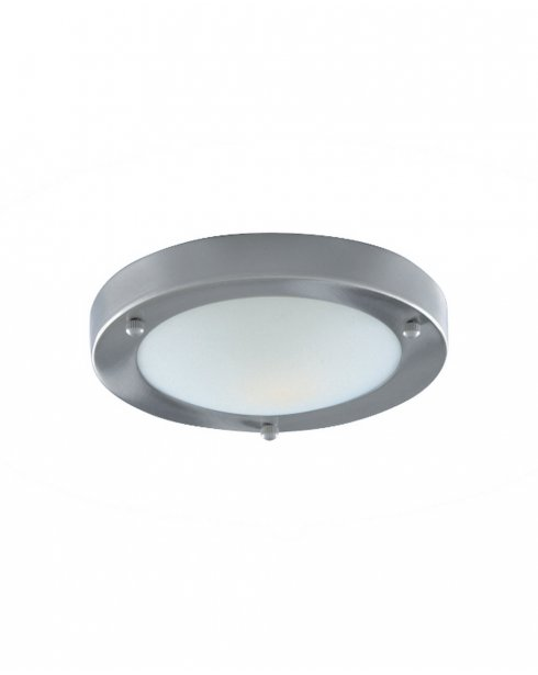 Searchlight 1131-31SS Single Light Modern Bathroom Ceiling Fitting