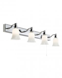 Searchlight 2934-4CC-LED 4 Light Traditional Bathroom Wall Fitting