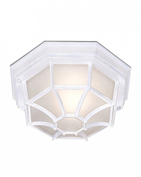 Searchlight 2942WH Single Light Traditional Porch Light