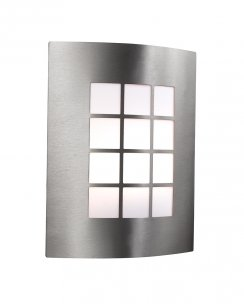 Searchlight 3140SS Single Light Modern Porch Light
