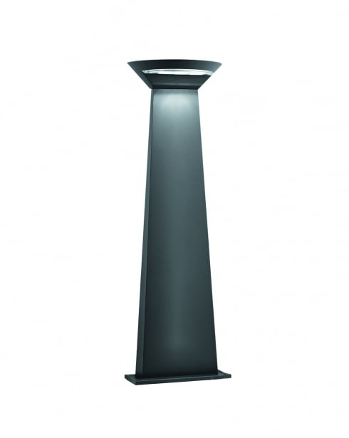 Searchlight 5122-800GY Modern Grey Outdoor Light Post