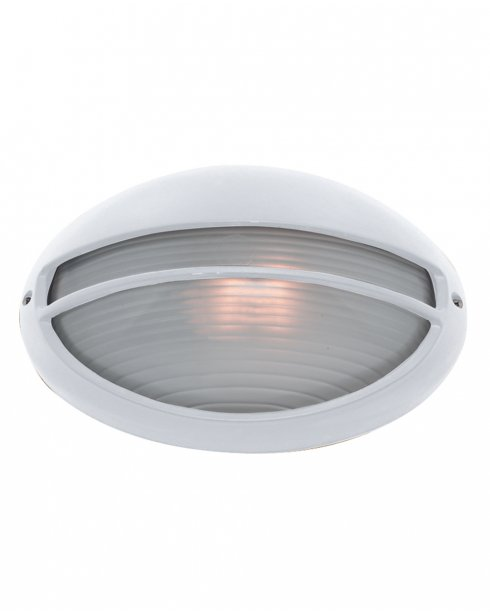 Searchlight 5544WH Single Light Modern Porch Light