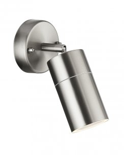 Searchlight 6411SS-LED Single Light Modern Porch Light