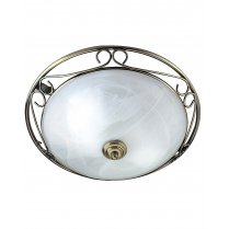 Searchlight 6436 2 Light Traditional Flush Ceiling Fitting
